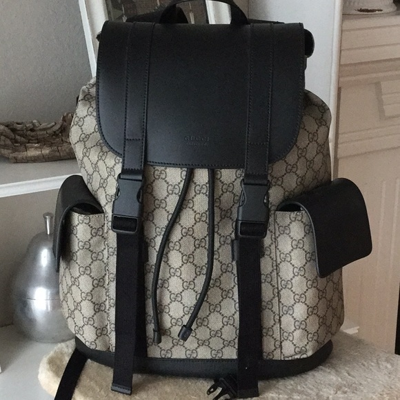 12df6fba0074 Gucci Other - Authentic-Gucci Soft GG Supreme backpack